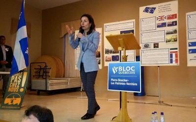 Xavier Barsalou-Duval invite Martine Ouellet à se présenter à la chefferie du Bloc Québécois