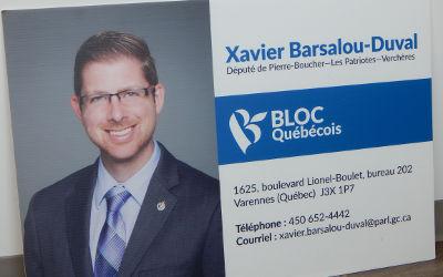 De l'action en mai dans la circonscription du député Xavier Barsalou-Duval: trois activités politiques, dont une nouveauté mensuelle