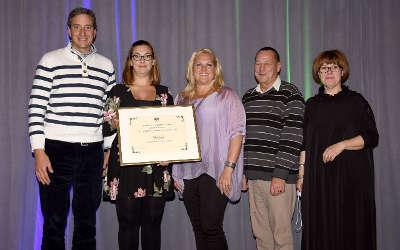 La Ville de Verchères reçoit le Prix «Développement économique» de la Fondation Rues principales