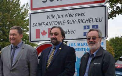Jumelage entre St-Antoine-sur-Richelieu et Dompierre sur Mer, France