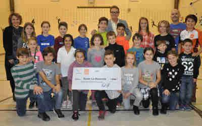 Récompenses de 2500 $ versées par la Ville à deux écoles primaires de Varennes