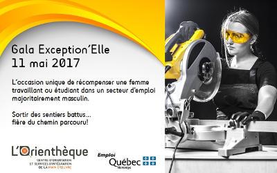 Lancement de l'appel de candidatures du Gala Exception'Elle 2017