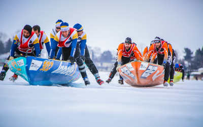 Course de canot à glace de Sorel-Tracy: l'épreuve de la Coupe des Glaces la plus près de chez vous!