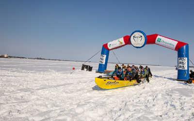 Course de canot à glace Sorel-Tracy – 3e édition: une 13e place pour l'équipe soreloise!