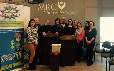 MRC Pierre-De Saurel, un beau départ pour la Mission : Réduction!