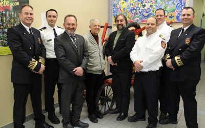 Saint-Antoine-sur-Richelieu et Saint-Roch-de-Richelieu officialisent leur entente de partenariat, en matière de Service de sécurité incendie