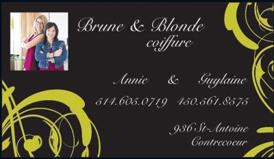 Brune et Blonde_Carte400