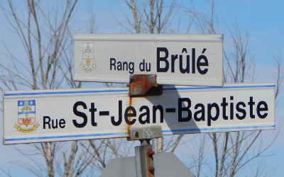 Chronique toponymique: le rang du Brûlé