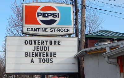 Cantine de Saint-Roch-de-Richelieu: ouverture jeudi le 27 avril !