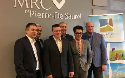 Parc éolien Pierre-De Saurel: un projet conforme aux prévisions…et même plus!