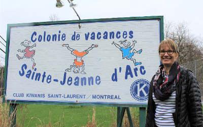 La Colonie Sainte-Jeanne d'Arc de Contrecœur: un coup de main bien apprécié!