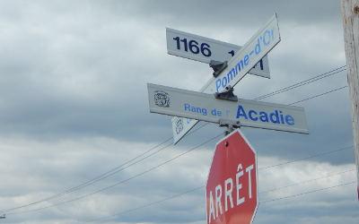 Chronique toponymique: le rang de l'Acadie
