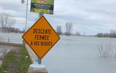 Crue des eaux et inondations: la région touchée