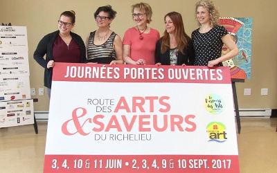 La Route des Arts et Saveurs du Richelieu: Journées portes ouvertes