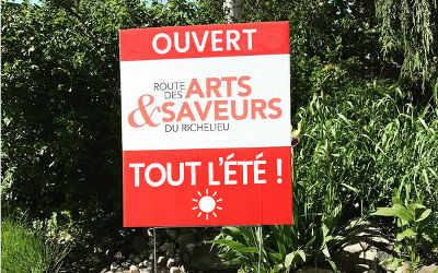 Un incontournable pendant les vacances: un petit tour sur la Route des Arts et Saveurs du Richelieu
