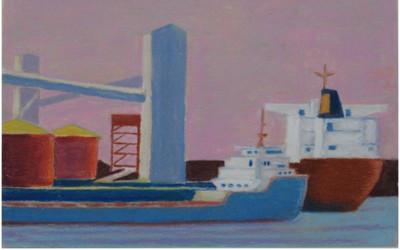 Exposition de l'artiste peintre John Lee: « Entre le départ et l'arrivée »