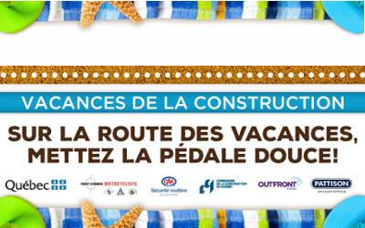 Un message de la Sûreté du Québec: sur la route des vacances, mettez la pédale douce!