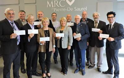 MRC de Pierre-De Saurel: les premières sommes disponibles en provenance du parc éolien reviendront aux municipalités