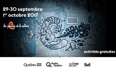 MRC de Pierre-De Saurel: programmation des Journées de la culture 2017