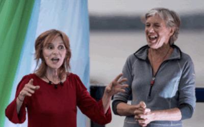 Clameurs du fleuve: spectacle de contes avec Françoise Crête et Diane-Marie Racicot