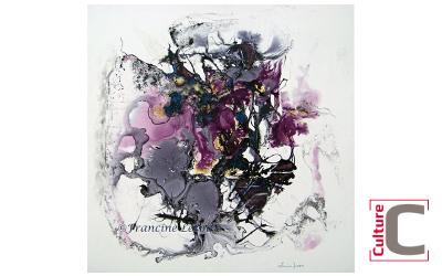 Culture C: démonstration de l'artiste Francine Leroux