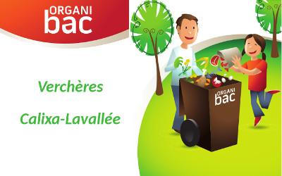 Verchères et Calixa-Lavallée: livraison de l'Organibac