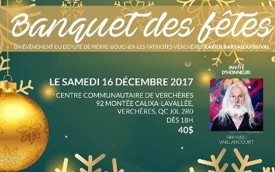 Pierre-Boucher—Les Patriotes—Verchères: Banquet de Noël du Bloc Québécois