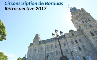 Rétrospective 2017: Circonscription de Borduas