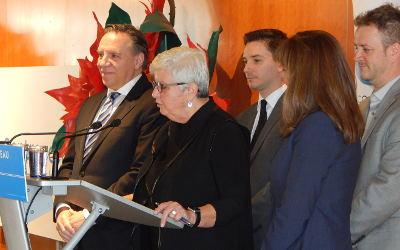 Annonce de la candidate dans Verchères: Suzanne Dansereau portera les couleurs de la CAQ