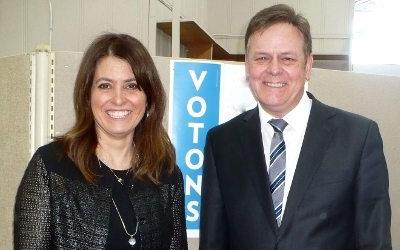 Il confirme qu'il sera candidat aux prochaines élections: Sylvain Rochon applaudit la nomination de Véronique Hivon comme vice-cheffe du parti
