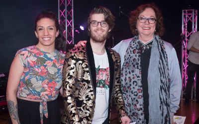 Avec un numéro d'humour: Tristan Charbonneau du Cégep de Sorel-Tracy remporte la finale locale de Cégeps en spectacle !