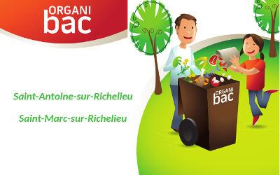 M.R.C. de La Vallée-du-Richelieu: collecte des matières organiques, des précisions à propos de cette nouvelle collecte