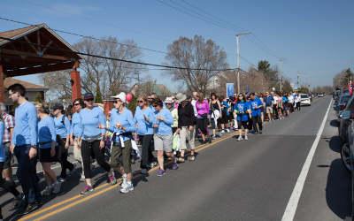 10e Marche annuelle pour la maison de soins palliatifs Source Bleue