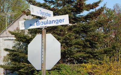 Chronique toponymique: les rues Boulanger et Durocher
