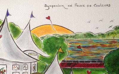 Symposium, un fleuve de couleurs: un événement artistique à ne pas manquer les 26 et 27 mai prochain à Contrecoeur