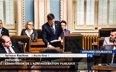 Sylvain Rochon dénonce la surenchère de promesses irresponsables à laquelle se livrent la CAQ et le PLQ au mépris des enfants du Québec