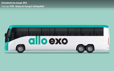 Le Réseau de transport métropolitain devient exo
