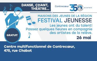 Festival jeunesse à Contrecoeur: un spectacle gratuit mettant en vedette les jeunes talents d'ici et de la région