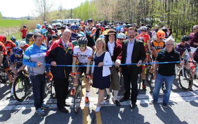 Grand Prix Cycliste Dynamiks: nombre record de cyclistes pour l'édition du 350e anniversaire de Contrecoeur