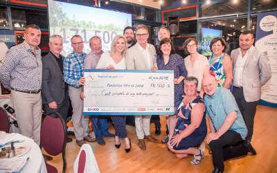 Tournoi de golf de la Ville de Varennes: une somme record de 171 500 $ remise à la Fondation Véro & Louis
