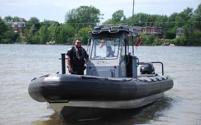 Régie intermunicipale de police Richelieu-Saint-Laurent: les patrouilleurs nautiques reprennent du service