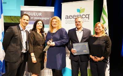 Cégep de Sorel-Tracy: Stéphanie Laramée reçoit un prix de l'Association des enseignantes et enseignants en Soins infirmiers des Collèges du Québec