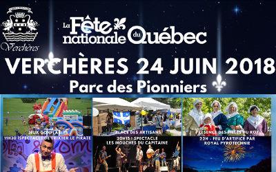 La Fête nationale du Québec à Verchères: du plaisir pour tous!