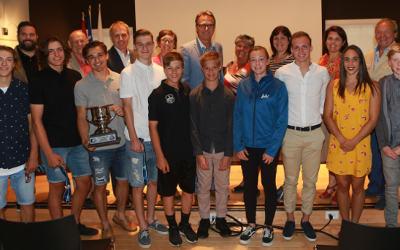 Varennes: jeunes sportifs honorés par le conseil municipal