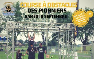 Course à obstacles des Pionniers à Verchères: ouverture des inscriptions