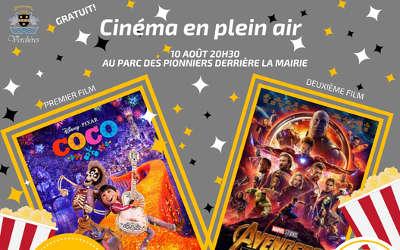 Cinéma en plein air à Verchères