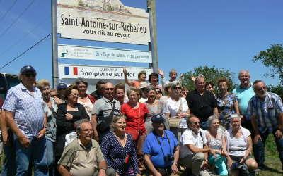 Communauté Antonienne: de la grande visite à Saint-Antoine