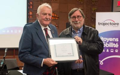 En l'honneur du conseiller municipal de Saint-Antoine-sur-Richelieu: Trajectoire Québec crée le prix Harry-Gow