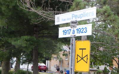 Chronique toponymique: rue des Peupliers et Stéphane