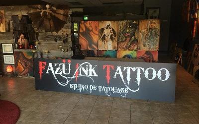Fazü Ink Tattoo: invitation à une porte ouverte pour célébrer le premier anniversaire du studio de tatouage